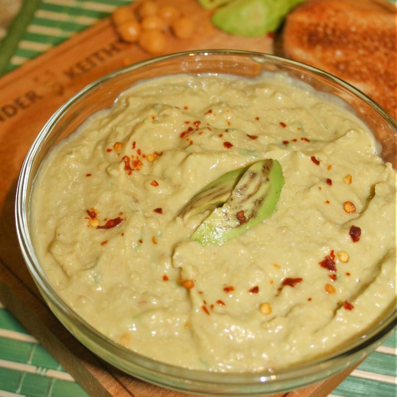 How to make Avocado Hummus