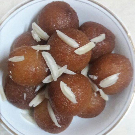 Photo of Rava Gulab Jamun (Suji/semolina based) by Pushpa Kotian at BetterButter