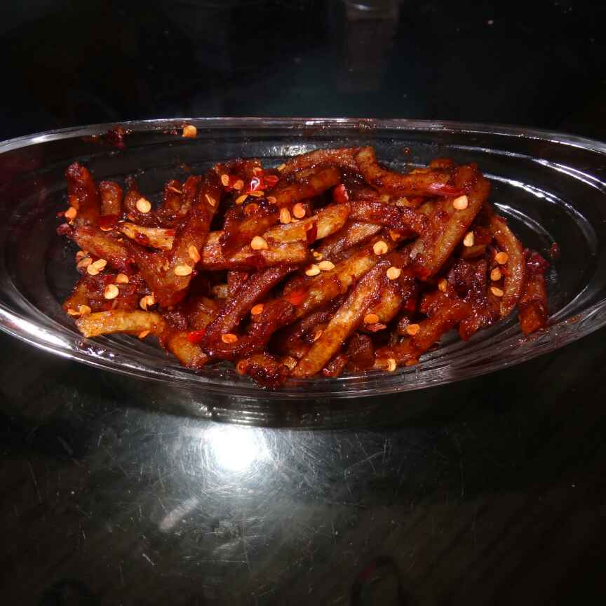 How to make Chilli Potato