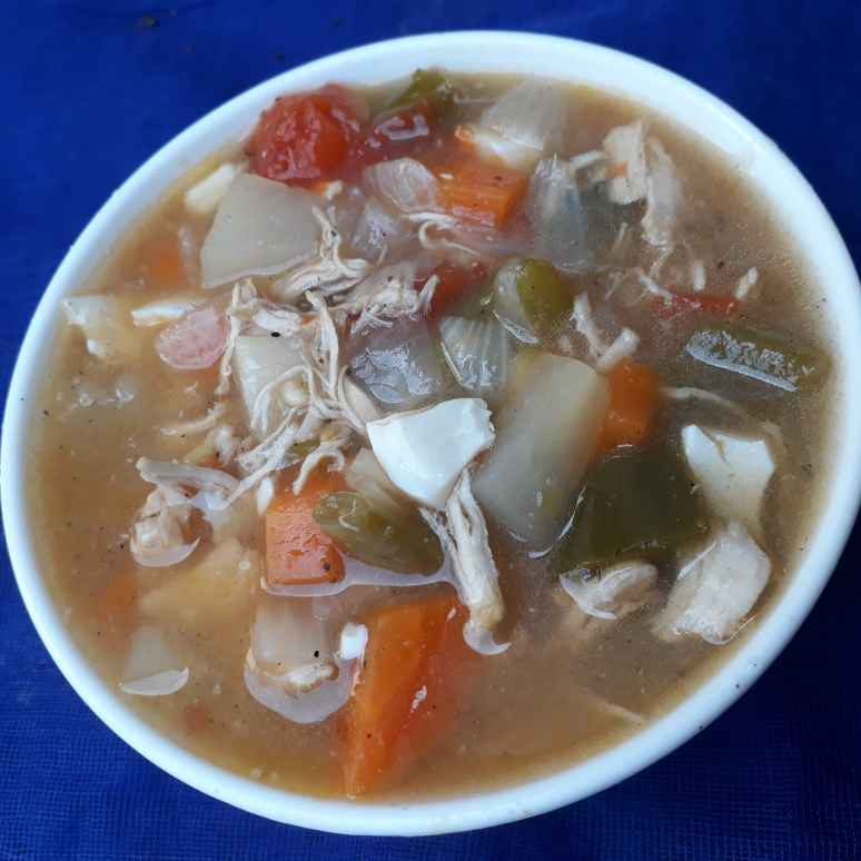 Photo of Vegetable chicken soup by Jaba Sarkar at BetterButter