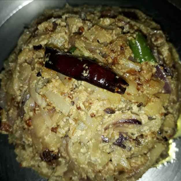 How to make Alu peyaj vaja posto