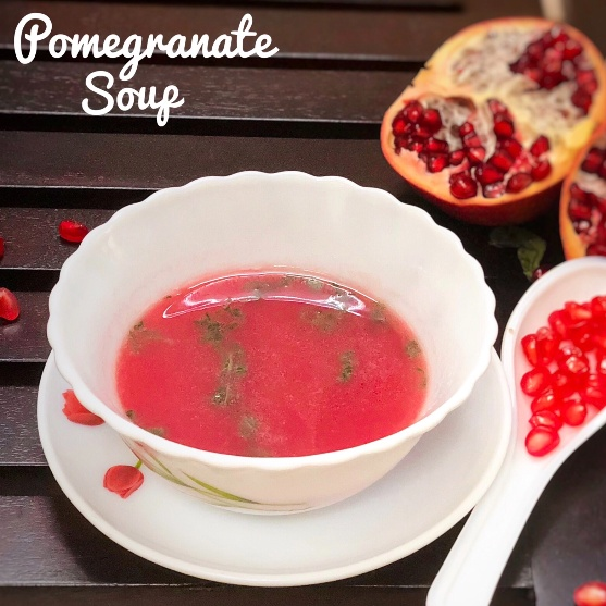 How to make Pomegranate soup