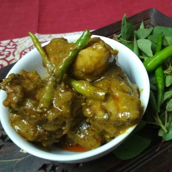 Photo of Gongura Chicken by Jaideep Singh (Jai Ki Rasoi Se) at BetterButter