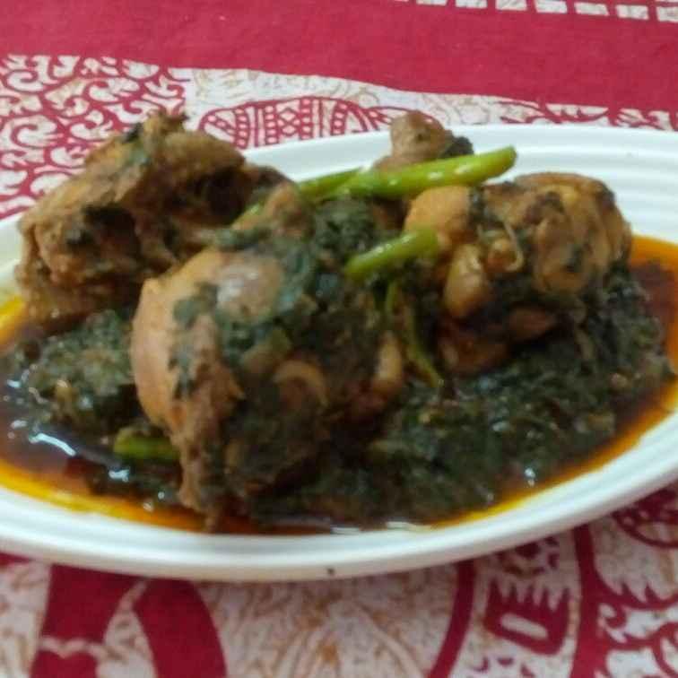 Photo of Hyderabadi Palak Chicken by Jaideep Singh (Jai Ki Rasoi Se) at BetterButter