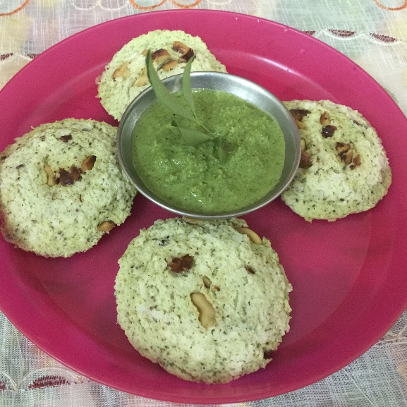 Photo of Egg, Mint and Curry Leaves Idly by Jaleela Kamal at BetterButter