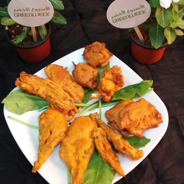 Photo of Mixed Vegetable Bajji Platter  by Jaleela Kamal at BetterButter