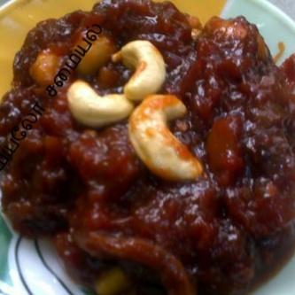 How to make Tomato Fig Halwa