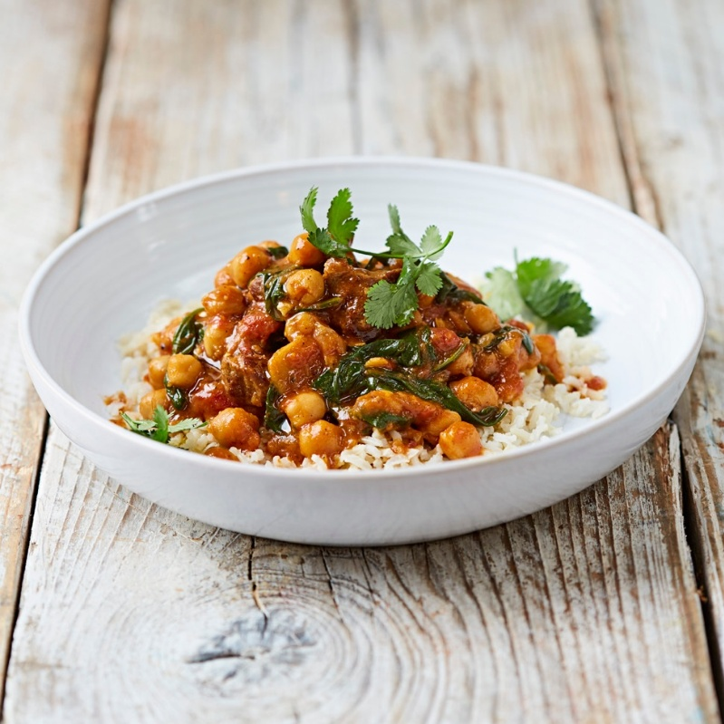 How to make Lamb and Chickpea curry