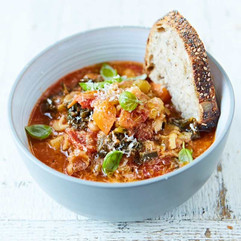 Photo of Minestrone Soup by Jamie Oliver at BetterButter