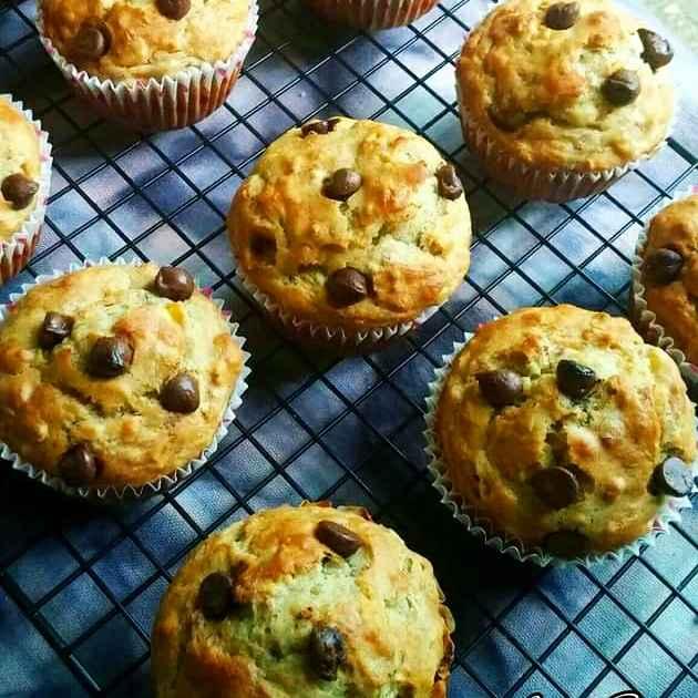 How to make Eggless Banana Oats Muffins