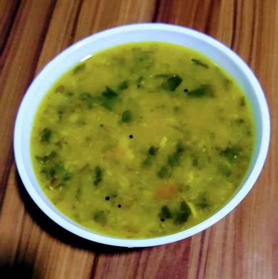 Photo of Paruppu keerai Kulambu by Janani Vijayakumar at BetterButter