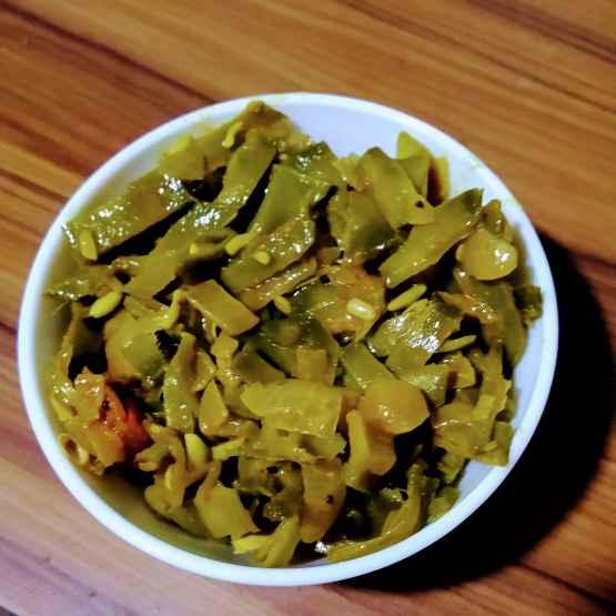 Photo of Avarakkaai poriyal by Janani Vijayakumar at BetterButter