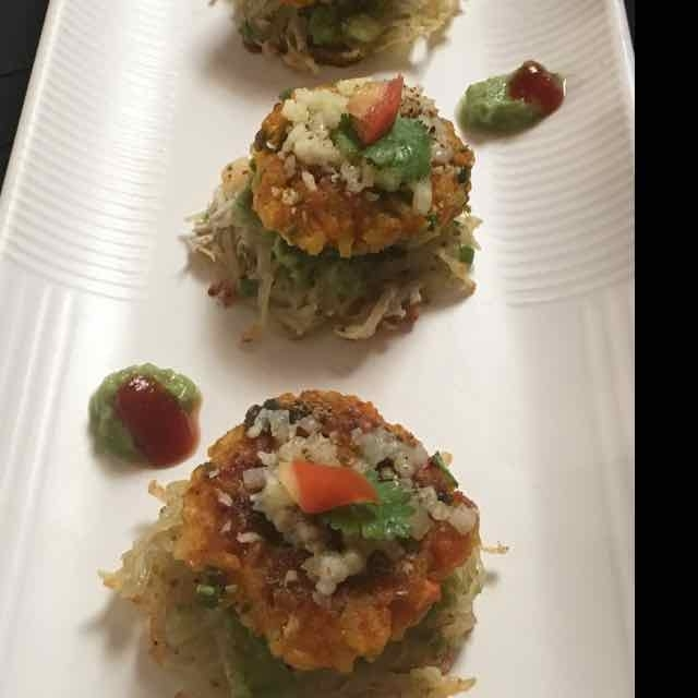 How to make potato n rice crisp