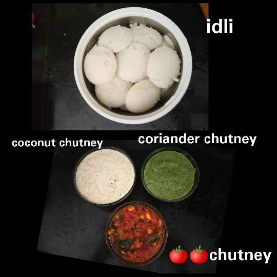 Photo of Idli with three varieties of chutney by jassi aarif at BetterButter