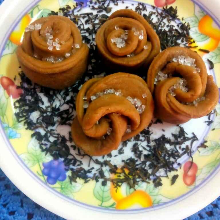 How to make Chocolate tea flower