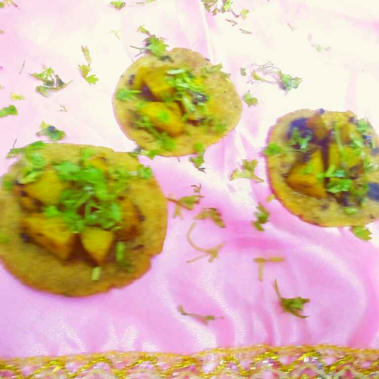 How to make PARATHA CANAPES