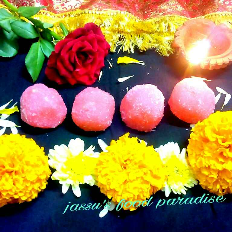 Photo of PANEER COCONUT LADOO by Jassu Sehdev at BetterButter
