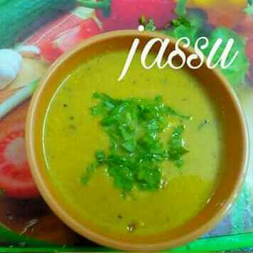 How to make Saunth kadhi