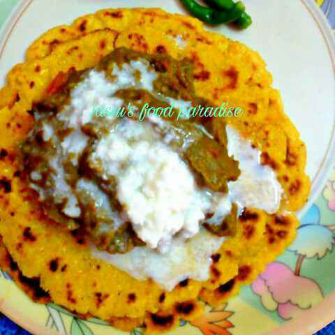How to make MAKKA K ROTI N SARSON K SAAG