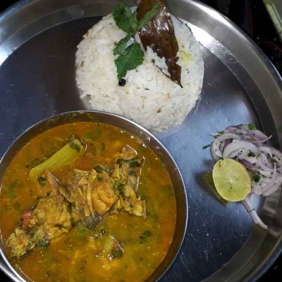 Photo of Chicken Dalcha.This is my first recipe. by Jaya Andekar at BetterButter