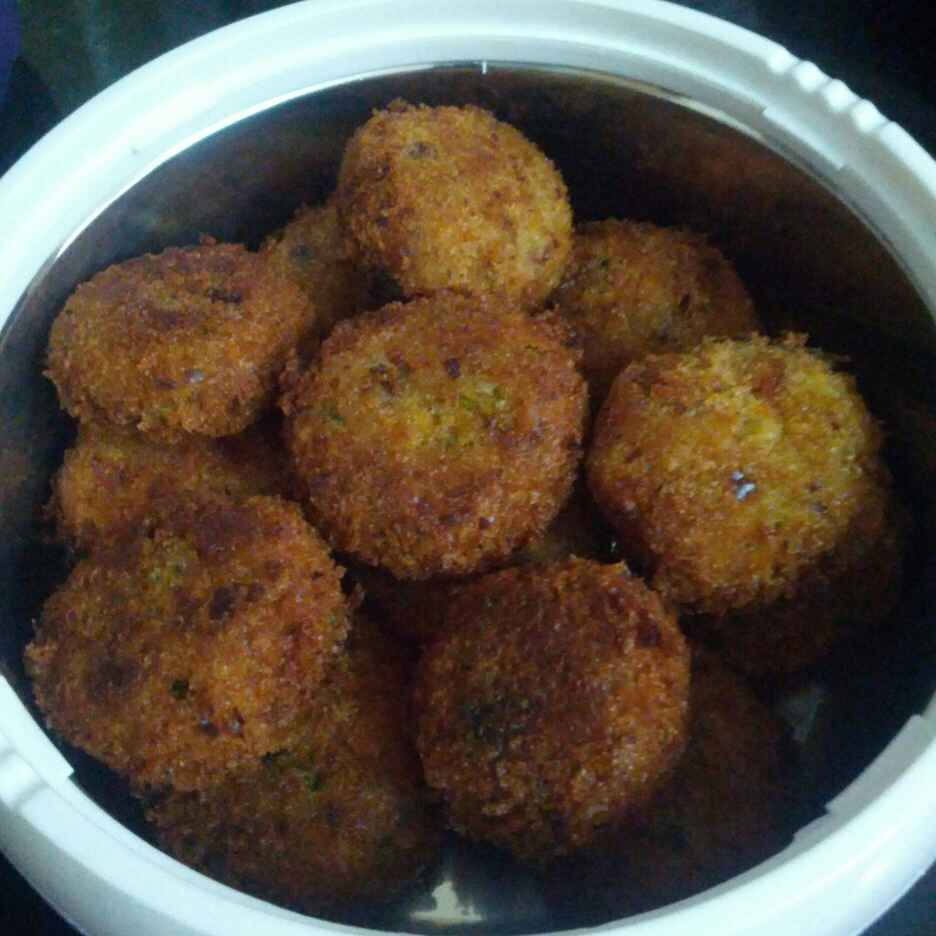 Photo of Aalur Chaap (Potato and mixed vegetable cutlets) by Jaya Rajesh at BetterButter