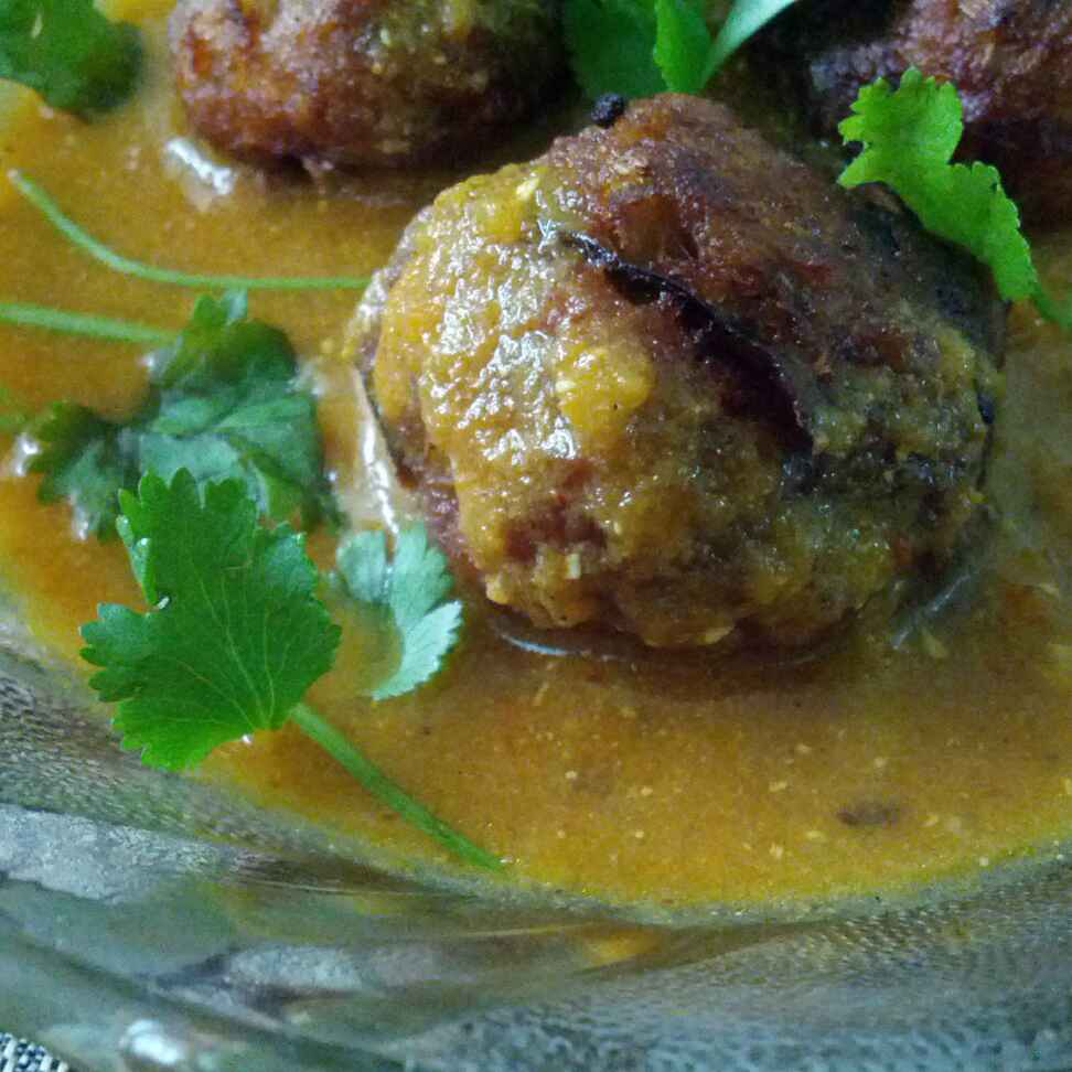 How to make Banana Stem Kofta Curry