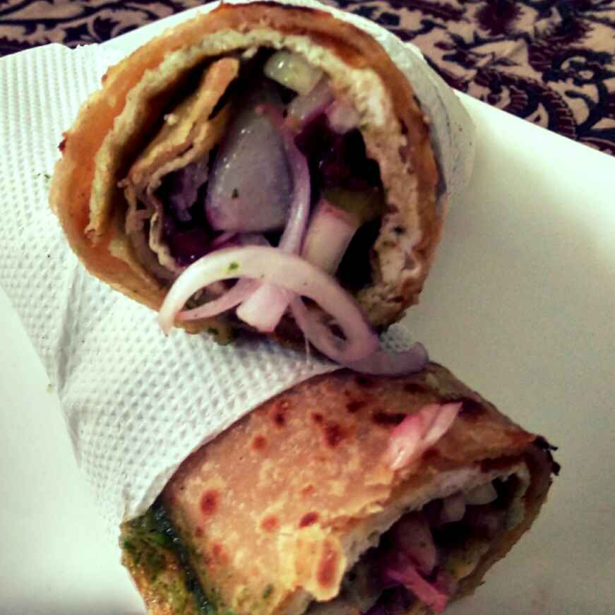How to make Egg Vegetable Roll