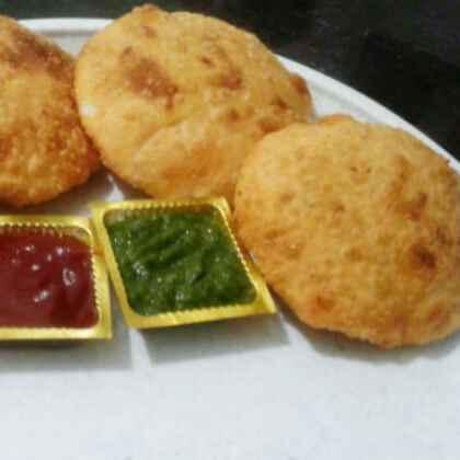 Photo of , Aloo ki khasta kachori by Jaya Tripathi at BetterButter