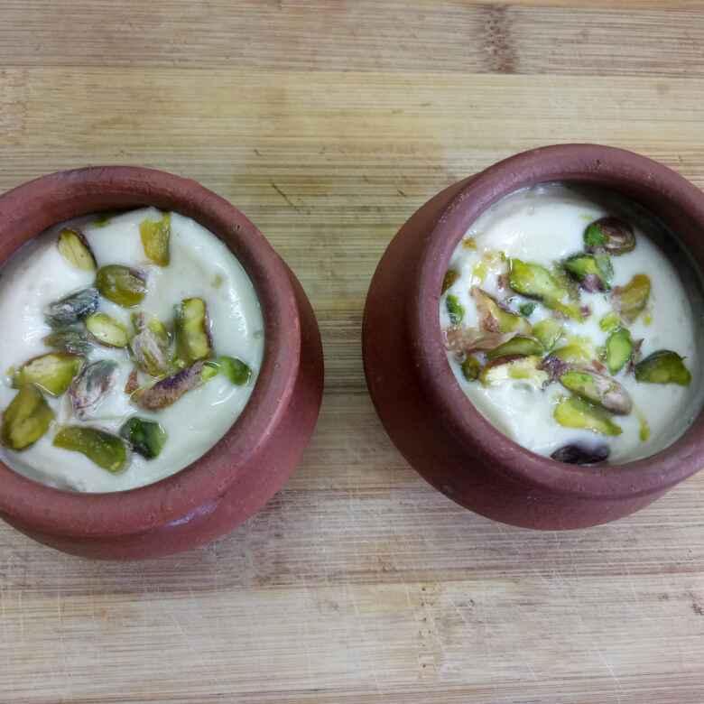How to make Sweetened yogurt / Bhapa doi