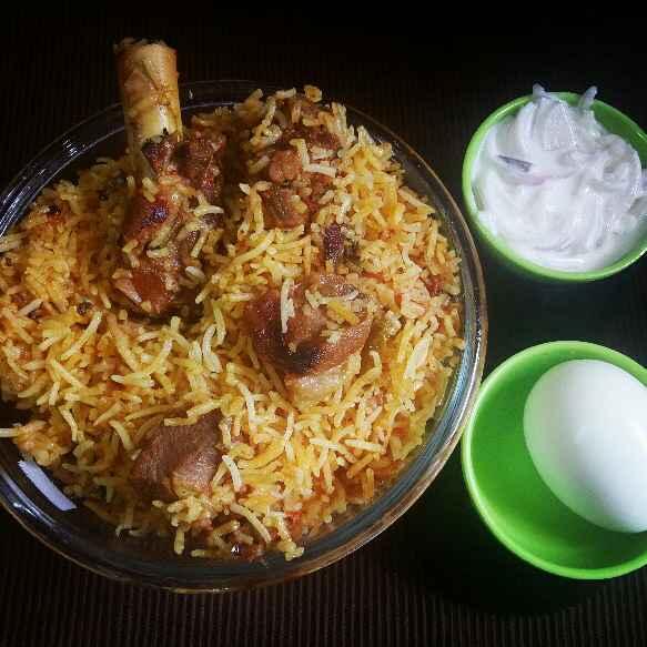 How to make Mutton Dum Biriyani