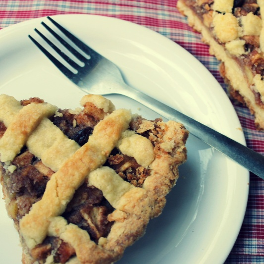 Photo of Dutch Apple Pie- Eggless by Jayanthi Padmanabhan at BetterButter