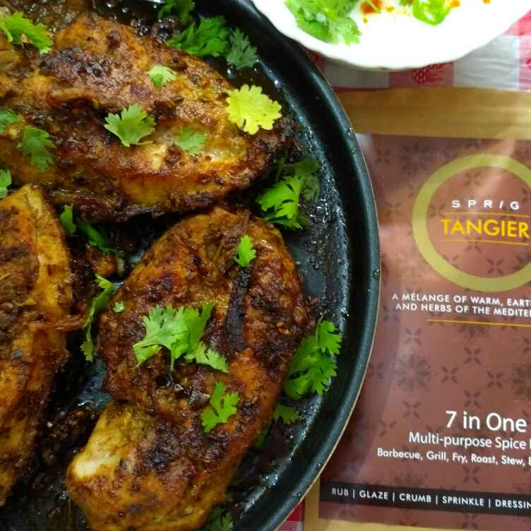 Photo of MEDITERRANEAN GRILLED CHICKEN BREAST by Jayanthy Asokan at BetterButter
