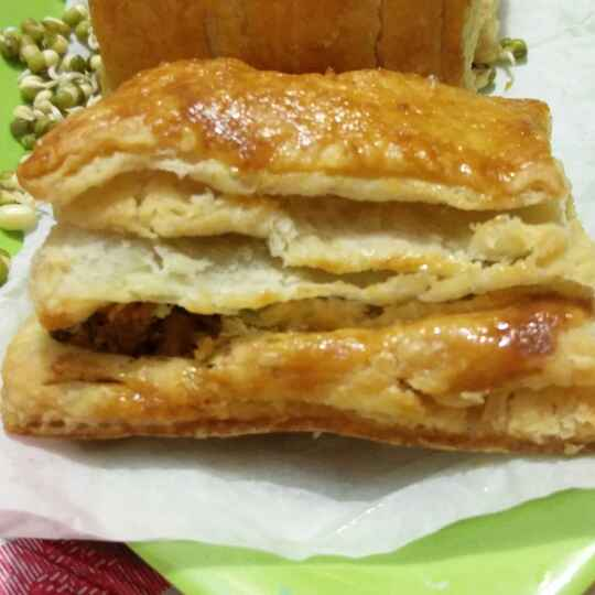 How to make Green Sprout Chicken Puff