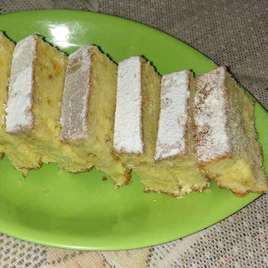 How to make ORANGE POUND CAKE