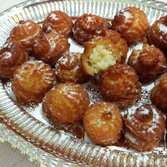 Photo of CHINESE CREAM PUFFS WITHOUT BAKING by Jayanthy Asokan at BetterButter