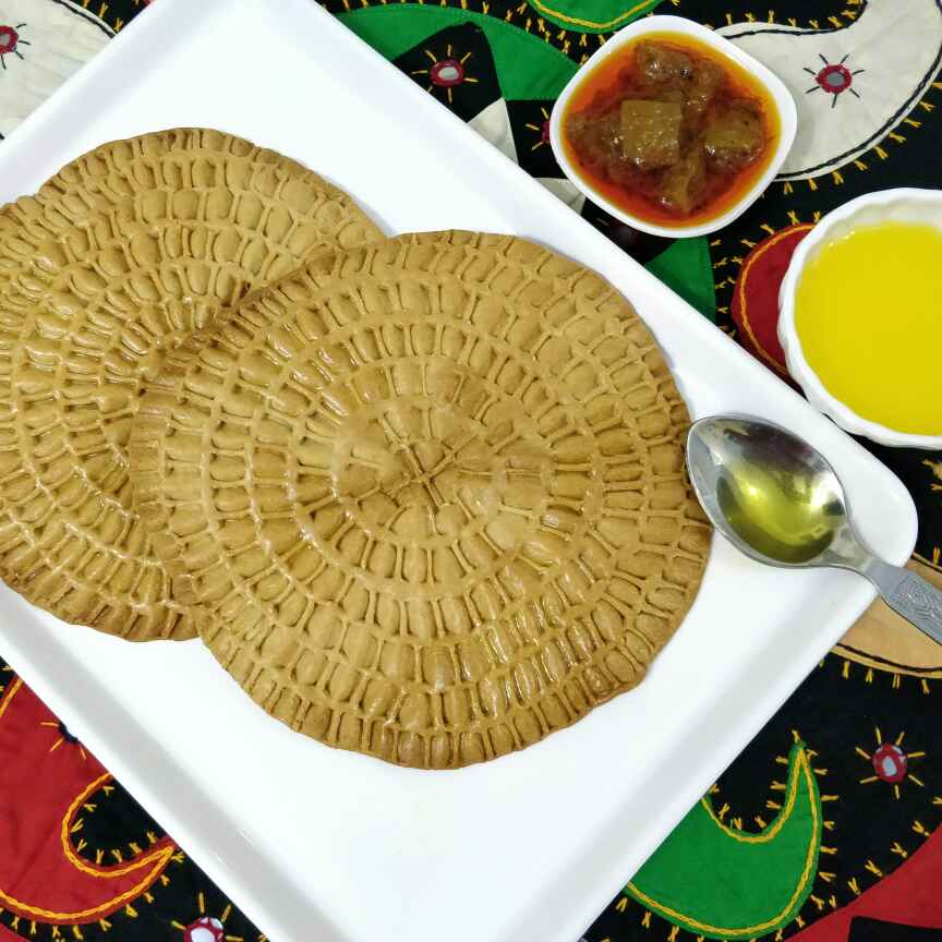How to make RAJASTHANI KHOBA ROTI