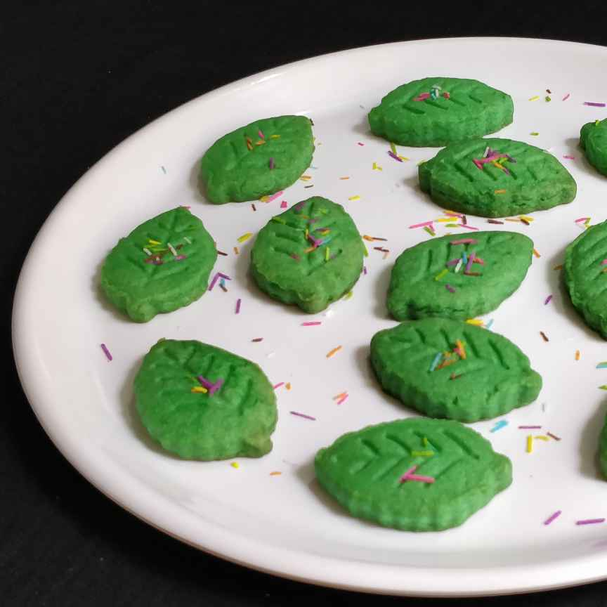 How to make Jowar Corn starch Paan Biscuits