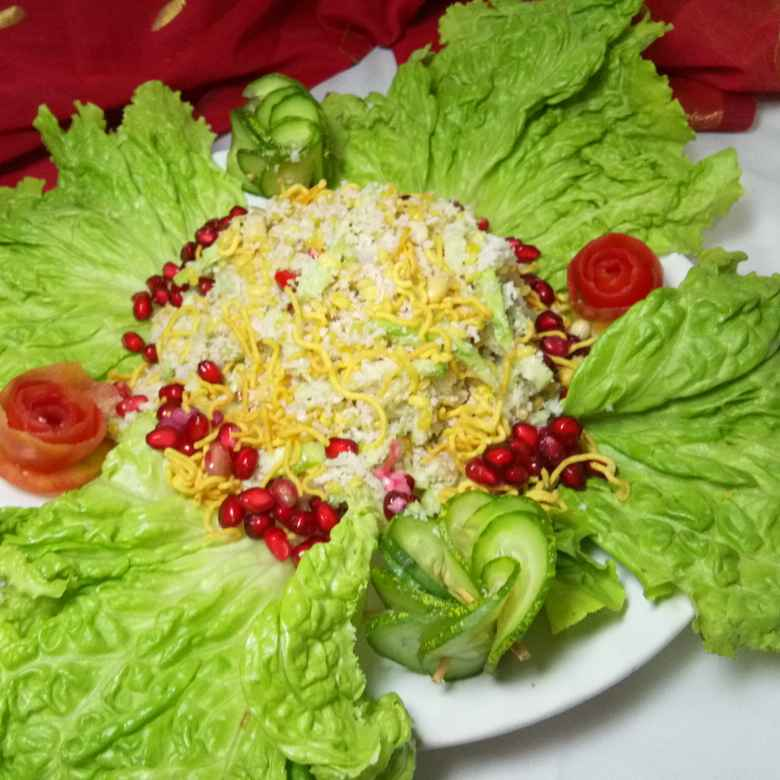 Photo of Sosha Narkeler Salad by Jayanwita Mukherjee at BetterButter