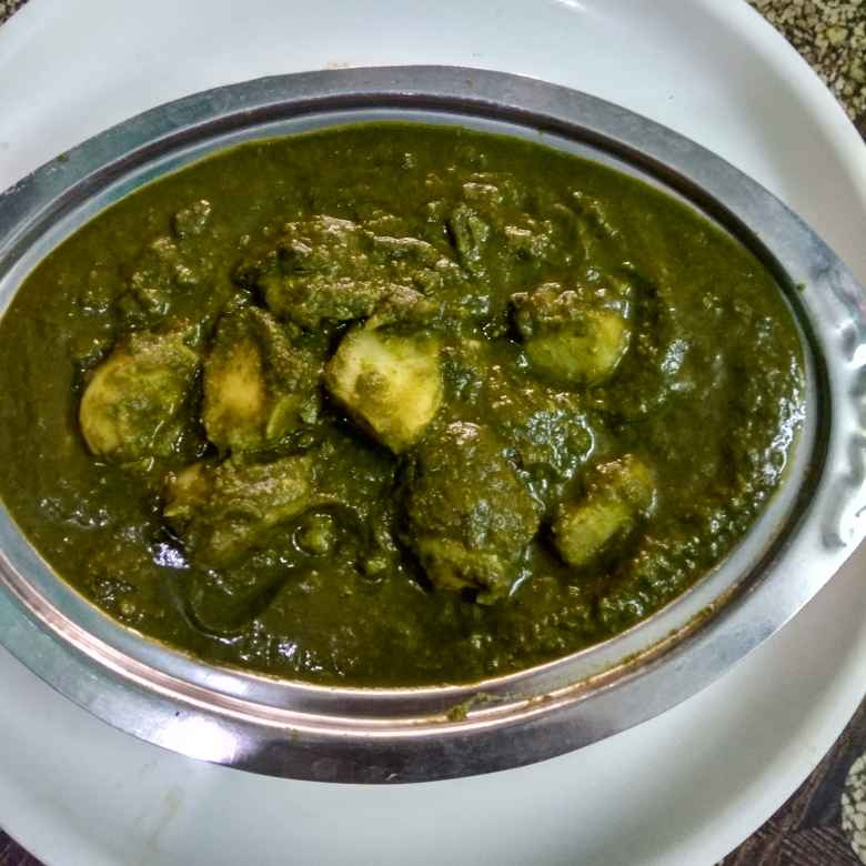 Photo of Aloo palak gravy by Jayasakthi Ekambaram at BetterButter