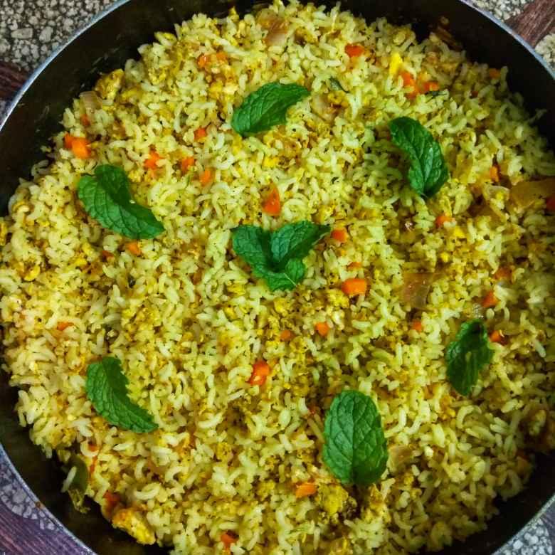 Photo of Indian style egg fried rice by Jayasakthi Ekambaram at BetterButter