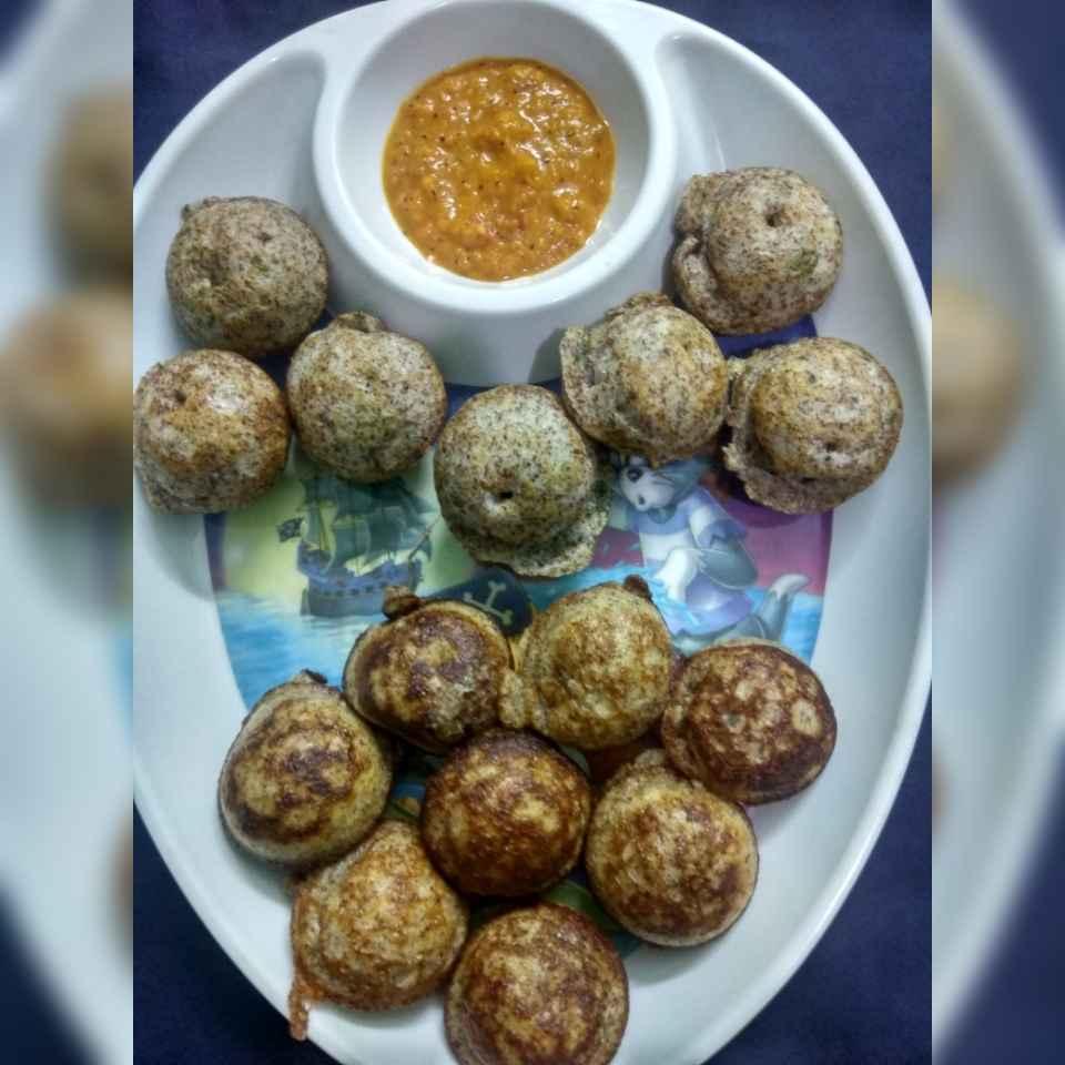 Photo of Ragi sweet paniyaram and Ragi kara paniyaram by Jayasakthi Ekambaram at BetterButter