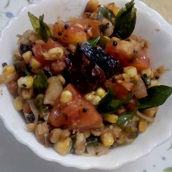 How to make Sweet corn salsa