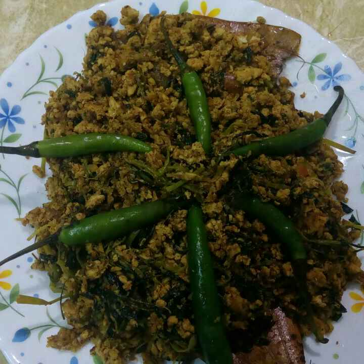How to make Methi chicken keema