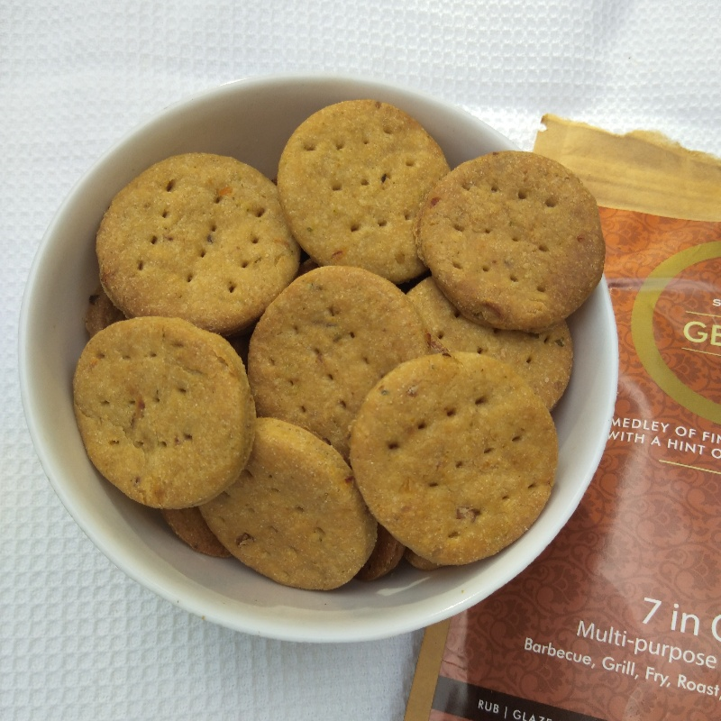 How to make Whole wheat Amaranth spicy crackers