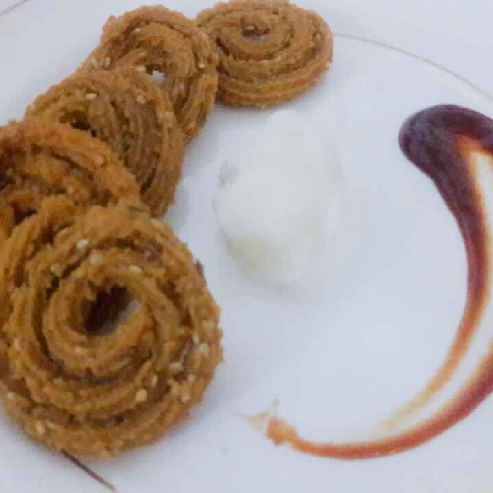 Photo of Wheat flour chakli by जयश्री भवाळकर at BetterButter
