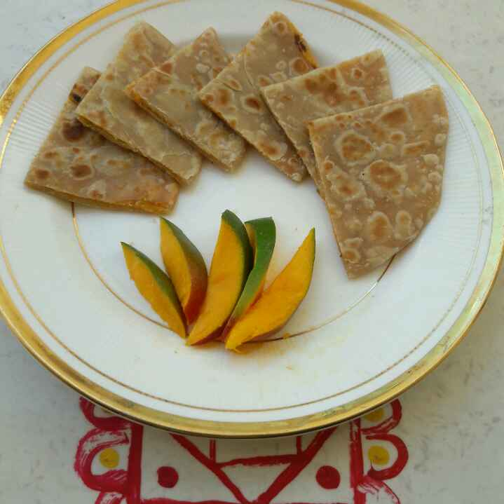 Photo of Stuffed Mango Paratha by जयश्री भवाळकर at BetterButter