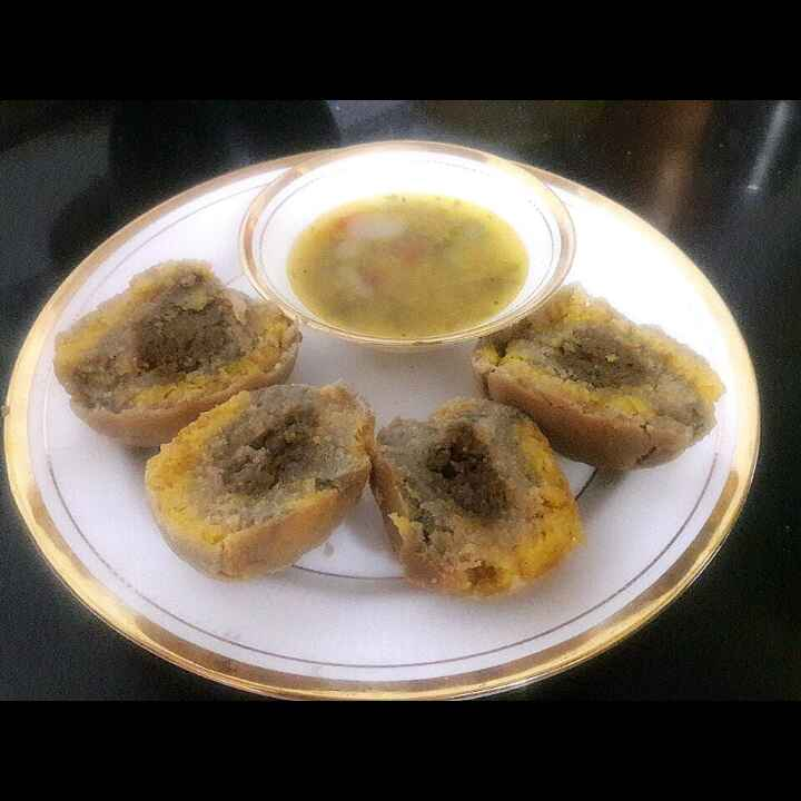Photo of Baked multi grain  baati by जयश्री भवाळकर at BetterButter