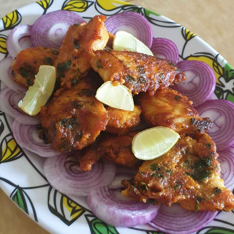 How to make Jhatpat fish tikka