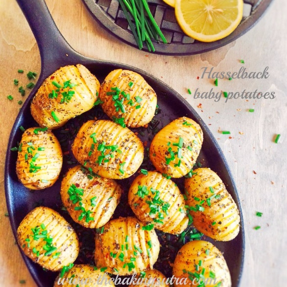 How to make Spicy Herbed Hasselback Baby Potatoes