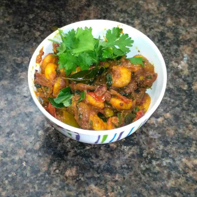 Photo of Spicy prawn semigravy by Jeba Jayaseelan at BetterButter